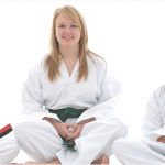 Girls in karate