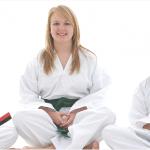 Girls in karate